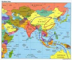 Mapa-Politico-de-Asia-del-Sur-2004