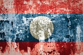 bandera laos
